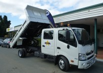 Goldstar Package 3 Tonne Dual Cab Tipper Tray