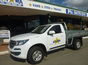 4×2 Single Cab Tray/Ute